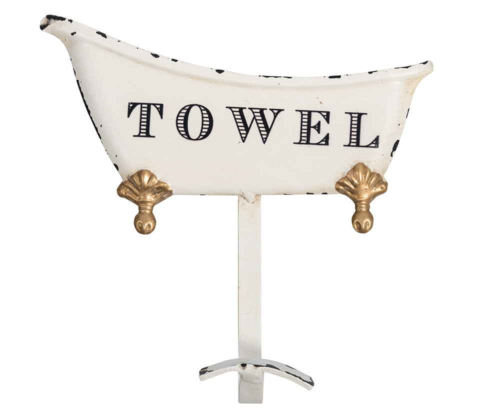 Retro wieszak do łazienki Towel Belldeco